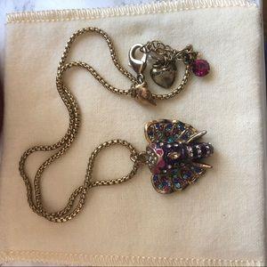 Vintage Betsy Johnson Elephant Necklace